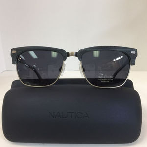 Nautica N 6219S 030 Gunmetal Polarized Sunglasses